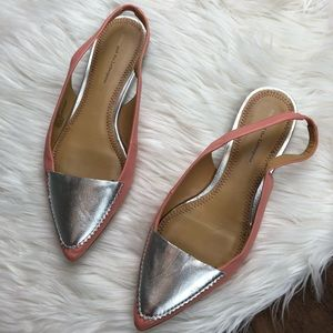 Anthropologie Pilcro and the Letterpress Slingback